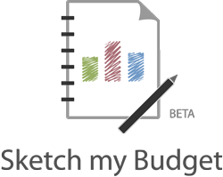 Beta-release Sketch my Budget