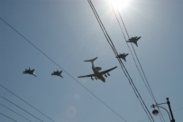 Victory Day: Airplanes